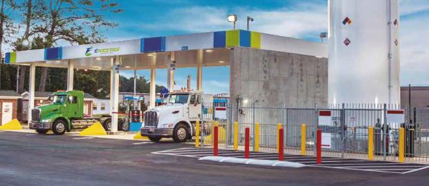 Enestas cuenta con un gran servicio de logistica de Gas Natural Licuado