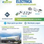 Ventajas del Gas Natural Licuado para generación eléctrica