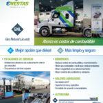 Ventajas del Gas Natural Licuado para Transporte